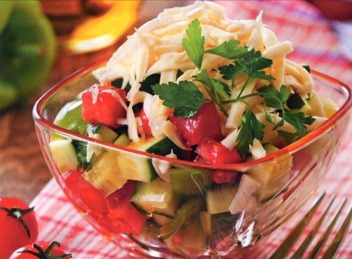 «Шопский» салат рецепт классический с фото