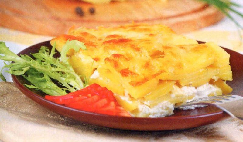 Картофель «Дофине» – классический рецепт с фото