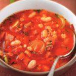 Итальянский суп минестроне