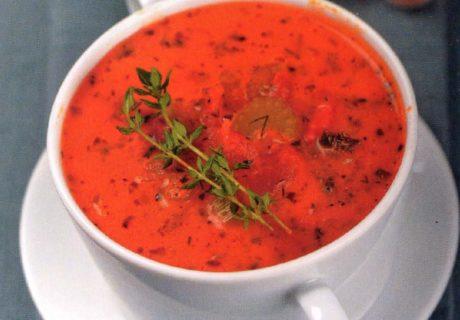 томатный суп с вермутом