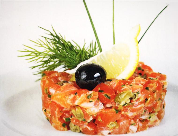 Тартар из лосося — рецепт приготовления