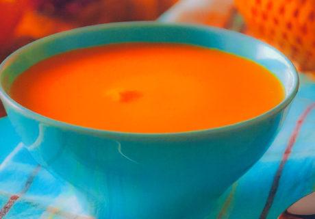 суп из зеленых помидор с чесноком
