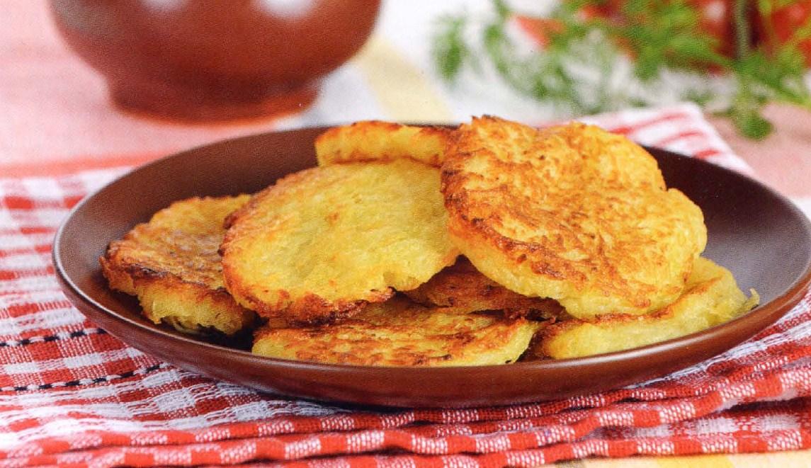 Картофельные драники: пошаговый рецепт