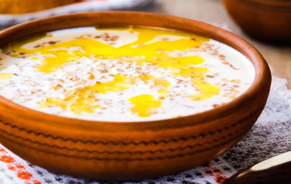 Молочный суп с гречкой: простой рецепт