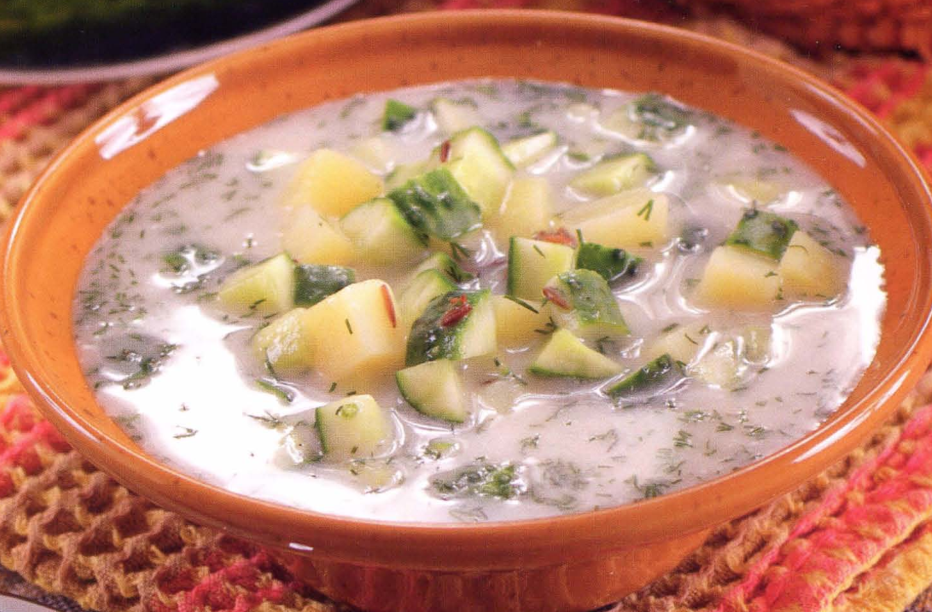 Как приготовить огуречный суп: пошаговый рецепт