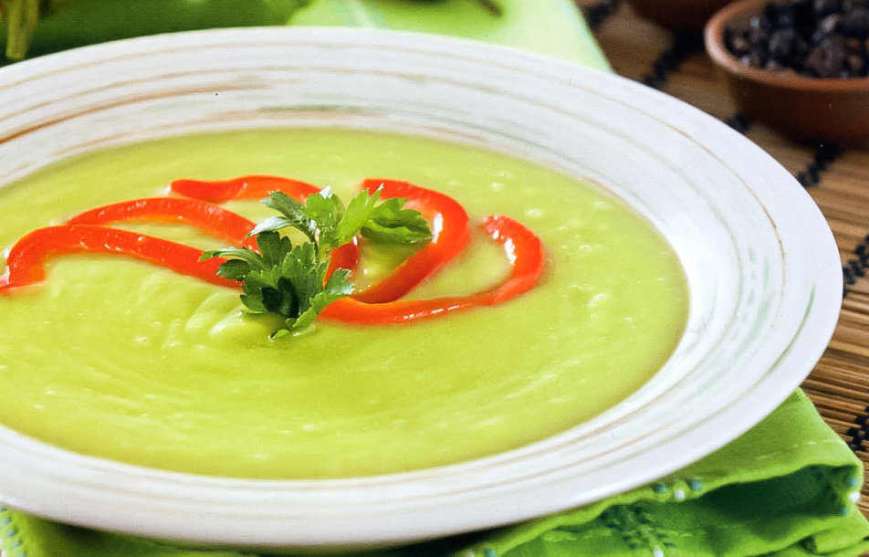как готовить полезные супы из авокадо
