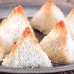 пирамидки с кокосовой стружкой по еврейски