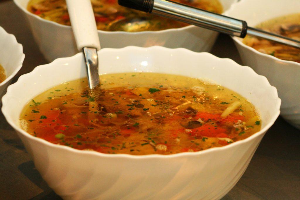 как приготовить грибной суп с лисичками