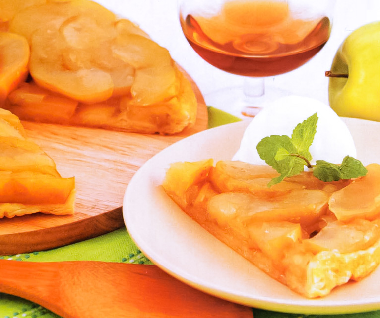 Яблочный пирог «Тарт татен»