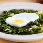 щавелевый суп с яйцами по-еврейски