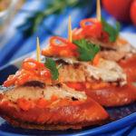 оригинальные бутерброды канапе с сардинами рецепт испанской кухни