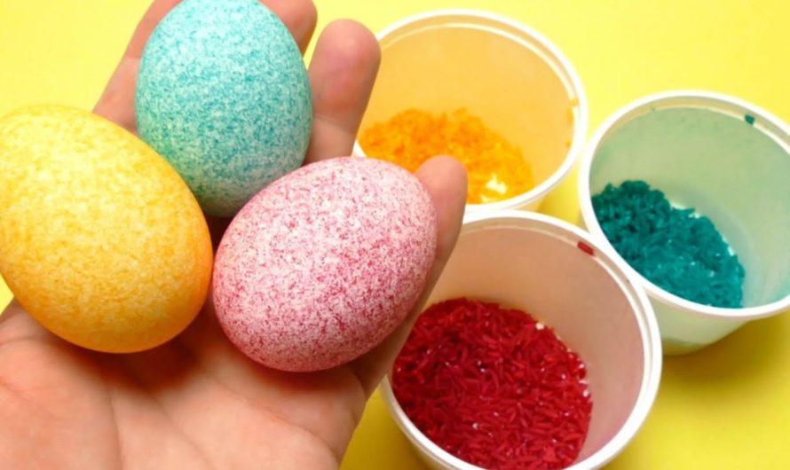 Пасхальные яйца в крапинку: как сделать