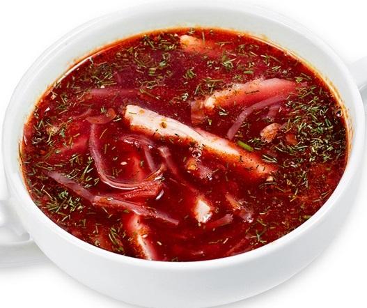 Борщ с кальмарами: как приготовить рецепт