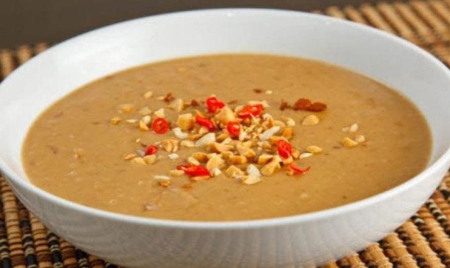 Острый арахисовый соус для салатов