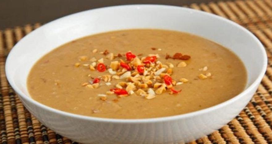 острый соус из арахиса с перцем чили