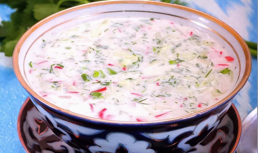 Чалоп – узбекская окрошка: рецепт