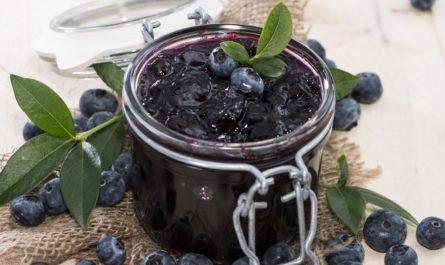 варенье из черники простой рецепт приготовления