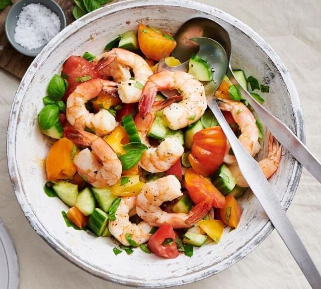 вкусный салат с морепродуктами и ананасом пошаговый рецепт