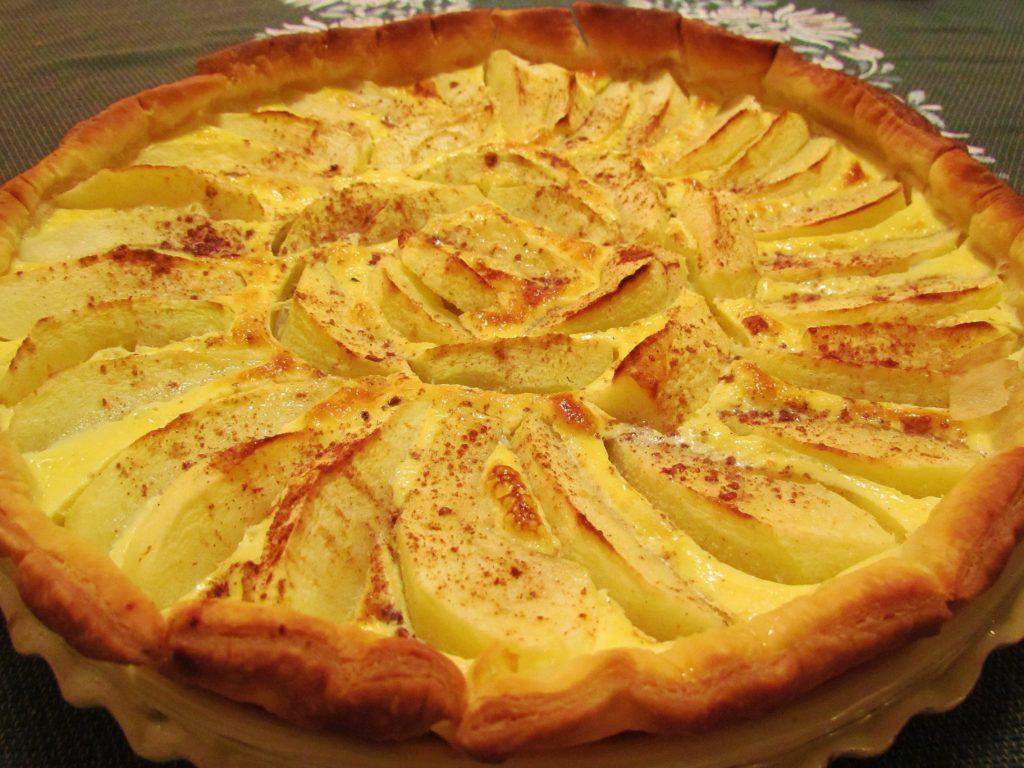 как легко приготовить яблочный пирог по-французски