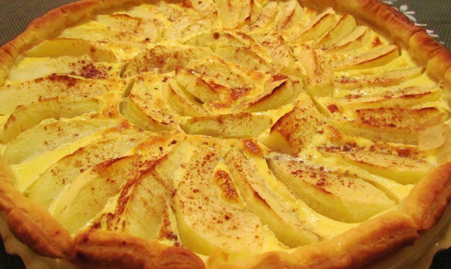 Яблочный пирог по-французски