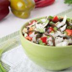 простой и вкусный салат с морской капустой из подручных ингредиентов