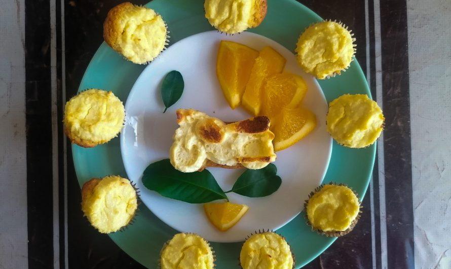 Творожно-апельсиновые кексы