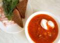 борщ со сметаной легкий рецепт
