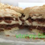 домашнее пирожное без выпечки рецепт с фото