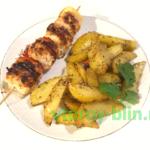 шашлык из куриной грудки пошаговый рецепт с фото