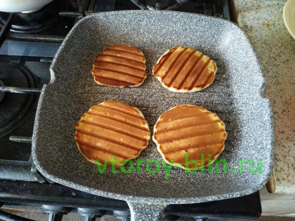 домашние вафли без вафельницы