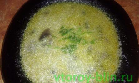 грибной суп как готовить дома
