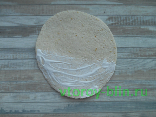 Тортильи с начинкой: рецепт с фото
