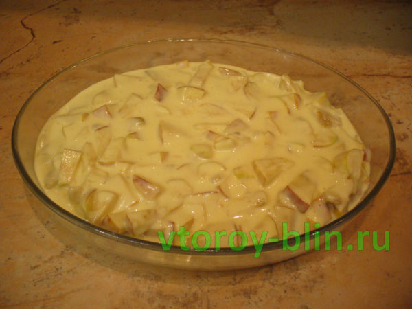 Как испечь яблочный пирог