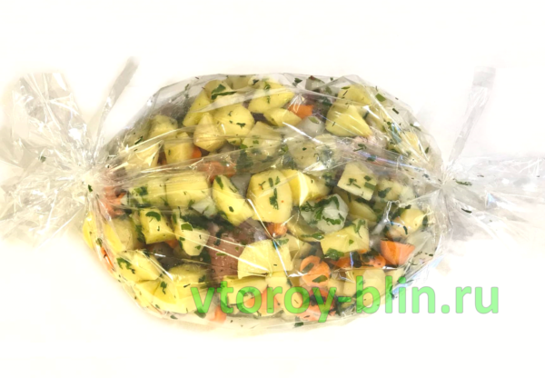 Рагу из курицы с овощами