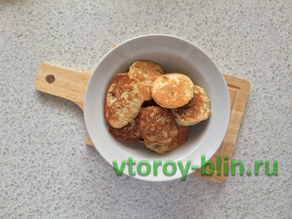 Банановые оладьи пошаговый рецепт как приготовить