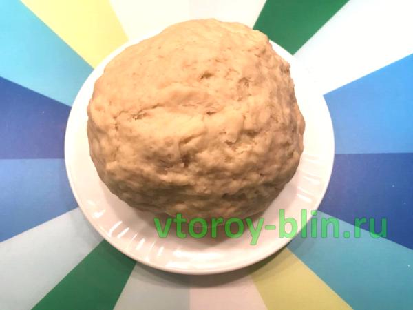 Плетеный пирог с картошкой и мясом