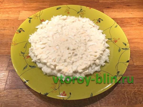Французский белый салат