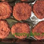 Мясные ватрушки из фарша с двумя видами начинки