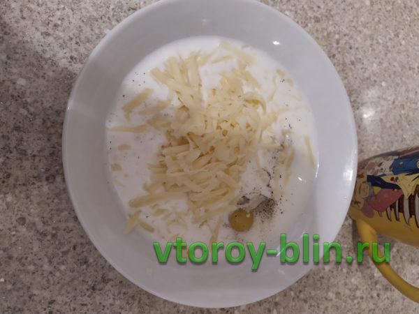 Запеканка из цветной капусты в духовке с яйцом и сыром
