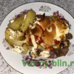 Мясо с овощами в духовке: рецепт