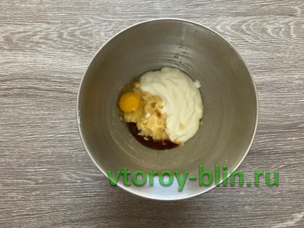 малиновый торт на йогурте