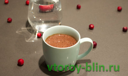Как приготовить домашний горячий шоколад