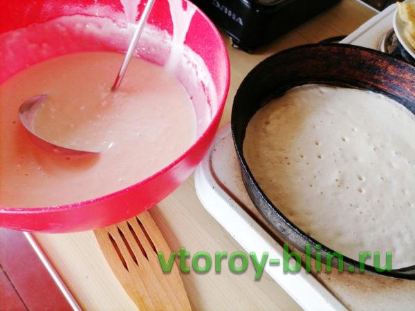 Ажурные блинчики на йогурте