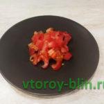 Скрэмбл с помидорами