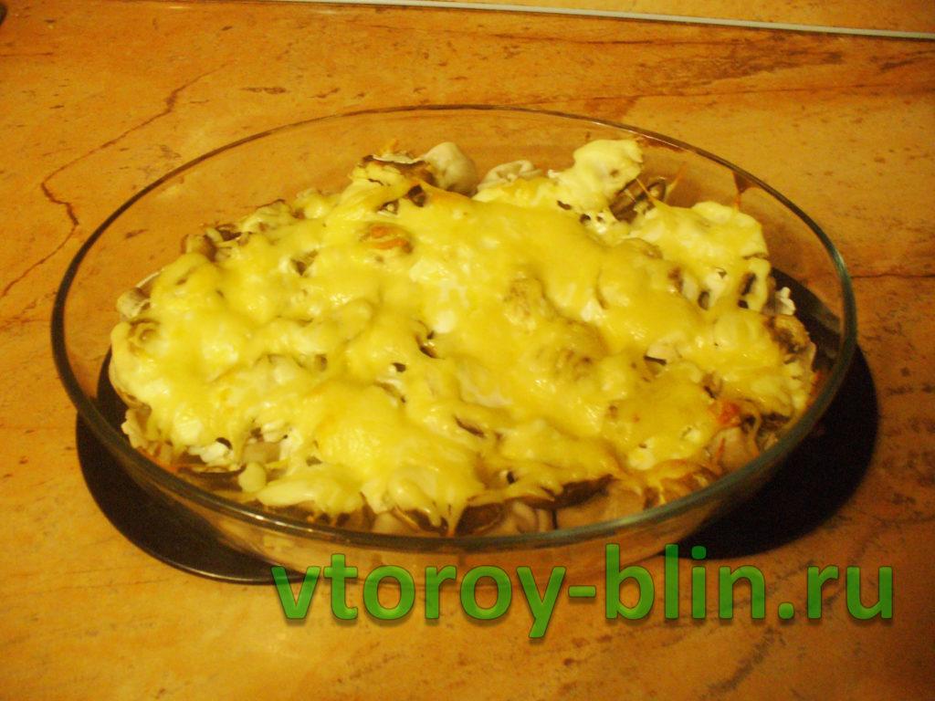 Пельмени в духовке со сметаной и сыром: пошаговый рецепт с фото