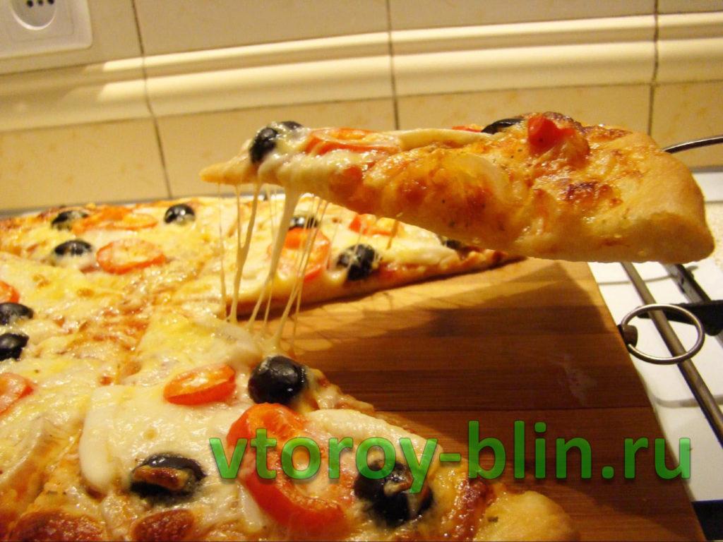 Как сделать пиццу с кальмарами