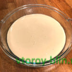 Заливной пирог с капустой на кефире в духовке