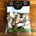 Легкий суп из белых сушеных грибов