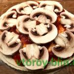 Пицца на пшеничной тортильи