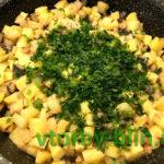Рагу из картофеля и баклажанов